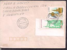 Brasil - 1988 - Lettre - Visite Au Brésil De L'image De Notre-Dame De Fatima - Cygnus - Christentum