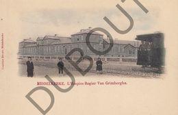 Postkaart - Carte Postale - Middelkerke L'Hospice Rogier Van Grimberghe - Tram - Kleur!  (B575) - Middelkerke