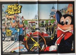 """POSTER """" WALT DISNEY WORLD """" Supplement Au Spirou N° 1828  De  1973 - Spirou Magazine"""