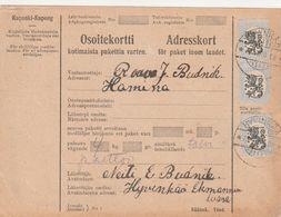 Finlande Bulletin D'expédition 1928 - Covers & Documents