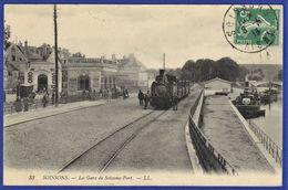 CPA 02 SOISSONS - La Gare De Soissons-Port - Soissons