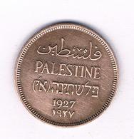 1 MIL 1927 PALESTINA /5463/ - Autres – Asie
