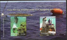 Aitutaki 2011, Aitutaki Marine Research Center, MNH Bloc - Aitutaki
