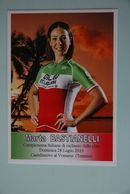CYCLISME: CYCLISTE : MARTA BASTIANELLI - Cycling