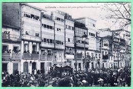 LA CORUNA - ENTIERRO DEL POETA GALLEGO CURROS ENRIQUEZ - La Coruña