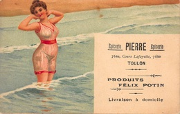 CPA Illustrée - Epicerie PIERRE 76 Bis Cours Lafayette TOULON - Produits Felix Potin - Illustrateurs & Photographes