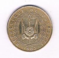 20 FRANCS 1983 (mintage 600000 Ex) DJIBOUTI /5467/ - Dschibuti