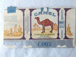 Paquet De Cigarettes Vide Cigarrettes Package Camel USA #14 - Empty Cigarettes Boxes
