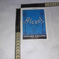 TL0272 DISTILLERIE SUBALPINE TORINO ALCOOL FINISSIMO - Etiquettes