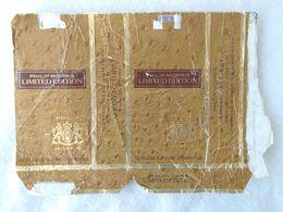 Paquet De Cigarettes Vide Cigarrettes Package Philip Morris Limited Edition USA #14 - Empty Cigarettes Boxes