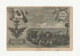 Cartolina Militare CONSEGNA BANDIERA COMBATTIMENTO AL IV TRENO ARMATO RASTRELLI - Historia