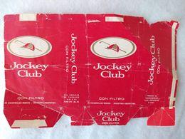 Paquet De Cigarettes Vide Cigarrettes Package Jockey Club Argentina #14 - Empty Cigarettes Boxes