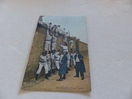 121 - CPA , Chasseurs à Pied, Escalade D'un Mur - Manoeuvres