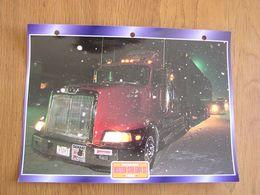 WESTERN STAR  5964 SS  1996  USA Trucks Trailers Transport Fiche Descriptive Camion Truck Camions - Autres
