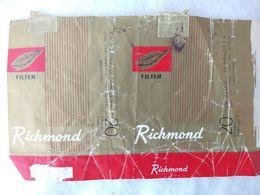 Paquet De Cigarettes Vide Cigarrettes Package Richmond Uruguay #14 - Empty Cigarettes Boxes