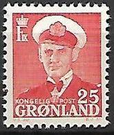 GROENLAND    -   1950  .  Y&T N° 23 **.    Frédéric  IX. - Groenland