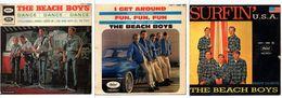 Lot De 3 45t. EP BEACH BOYS - Vinyles