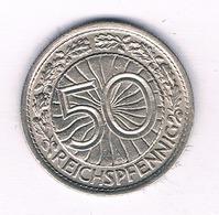 50 PFENNIG  1936 A   DUITSLAND /5471/ - [ 4] 1933-1945 : Tercer Reich