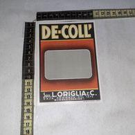 TL0279 SUCC. L. ORIGLIA & C. RIVOLI TORINO DE-COLL ETICHETTA DI PROVA - Etiquettes
