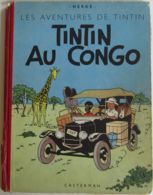 29563g TX -  HERGE - TINTIN AU CONGO - 1951 - Hergé