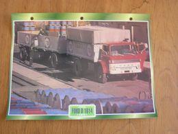 FORD  D 1614 1972  USA Trucks Trailers Transport Fiche Descriptive Camion Truck Camions - Autres