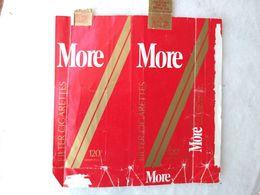 Paquet De Cigarettes Vide Cigarrettes Package More USA  #14 - Empty Cigarettes Boxes