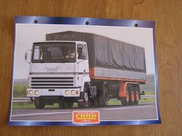 FORD  Transcontinental 1975  USA Trucks Trailers Transport Fiche Descriptive Camion Truck Camions - Autres