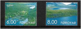 Faroe Islands  2001 Europa: Living Water  Mi  402-403, MNH(**) - Färöer Inseln