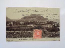 San Sebastian. - Vista General Desde Concorrenea. (17 - 10 - 1906) - Guipúzcoa (San Sebastián)