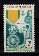 Wallis Et Futuna - YV 156 N* Medaille Militaire Cote 9 Euros - Ungebraucht