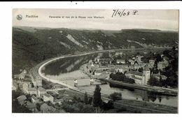 CPA- Carte Postale-Belgique- Hastière Panorama Et Vue De La Meuse Vers Waulsort 1908 VM18671 - Hastière