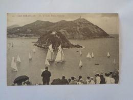 San Sebastian. -  Isla De Santa Clara E Igueldo. - Guipúzcoa (San Sebastián)