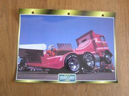 FREIGHTLINER Defiance 1990 Compétition  USA Trucks Trailers Transport Fiche Descriptive Camion Truck Camions - Autres