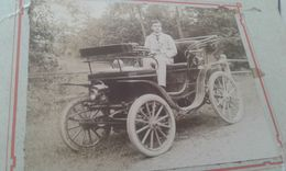Photo Voiture 1900 - Automobiles