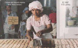Mauritius, MU-MAU-0084, Tapioca Biscuits, 2 Scans. - Mauritius