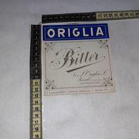 TL0295 SUCC. L. ORGIGLIA & C. RIVOLI TORINO BITTER ORIGLIA - Etiquettes