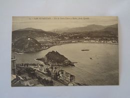 San Sebastian. -  Isla De Santa Clara Y Babia,desde Igueldo. - Guipúzcoa (San Sebastián)