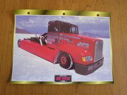 FREIGHTLINER Joint Venture 1992  Compétition  USA Trucks Trailers Transport Fiche Descriptive Camion Truck Camions - Autres