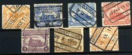 Bélgica Paquetes Postales Nº 64, 72/5, 77/8 - Autres