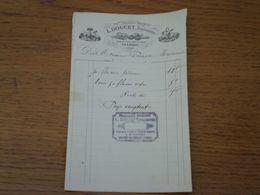 23 CHAMBON SUR VOUEIZE - Facture L. DOUCET, Ancienne Pharmacie Brunot - France