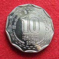 Sri Lanka 10 Rupees 2013 KM# 181a - Sri Lanka
