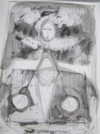 Art  Antiquités Tableaux  Dessins Crayon - Dessins