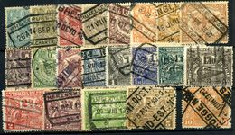 Bélgica Paquetes Postales Nº 79/99 - Autres