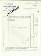 70 - Haute Saone - Vesoul - Facture Ets.Carlos Bloch - Garage Citroen   - 1963.. - Réf 43 - - France