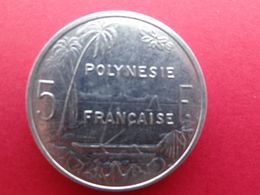 Polynesie  Francaise  5 Francs  2003  Km 12 - Polynésie Française