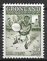 GROENLAND    -   1961  .  Y&T N° 35 **.   Folklore  /  Danseur - Groenland