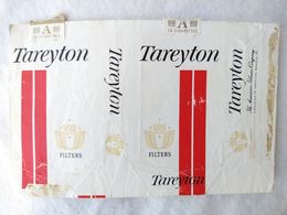 Paquet De Cigarettes Vide Cigarrettes Tareyton USA RARE #14 - Empty Cigarettes Boxes