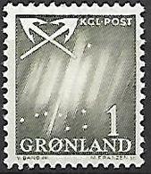 GROENLAND    -   1963  .  Y&T N° 36 **.    Grande Ourse. - Groenland