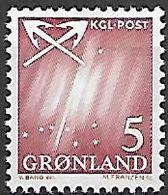 GROENLAND    -   1963  .  Y&T N° 37 **.    Grande Ourse. - Groenland