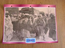 LA VOIE SACREE Guerre 14 18 Poilu France Verdun Convois Trucks Trailers Transport Fiche Descriptive Camion Truck Camions - Autres